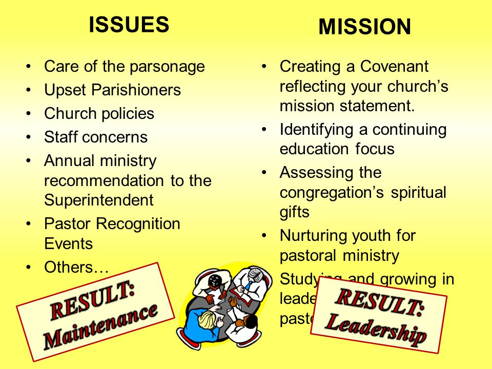 Staff-Parish Relations Focus