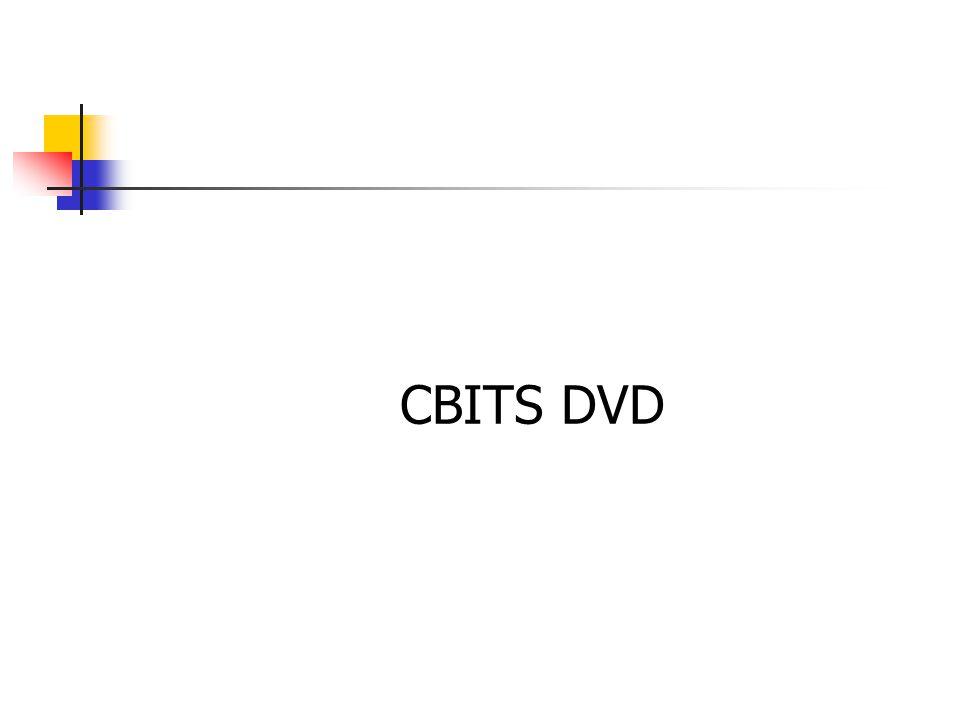 CBITS DVD