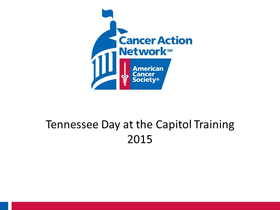 Tennessee Day at the Capitol Training 2015
