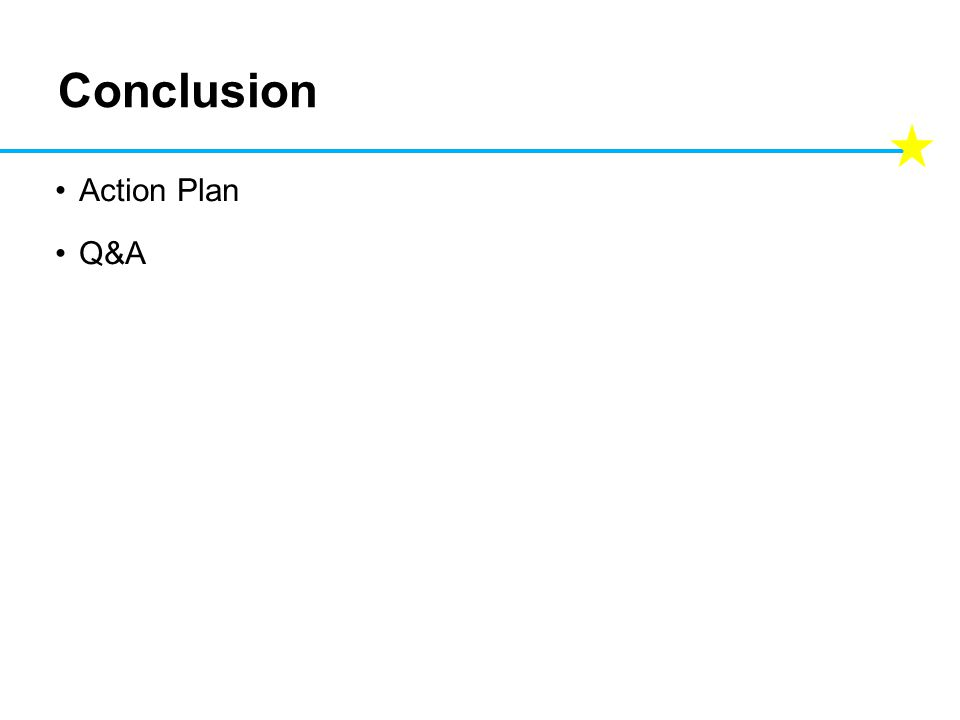 Conclusion Action Plan Q&A