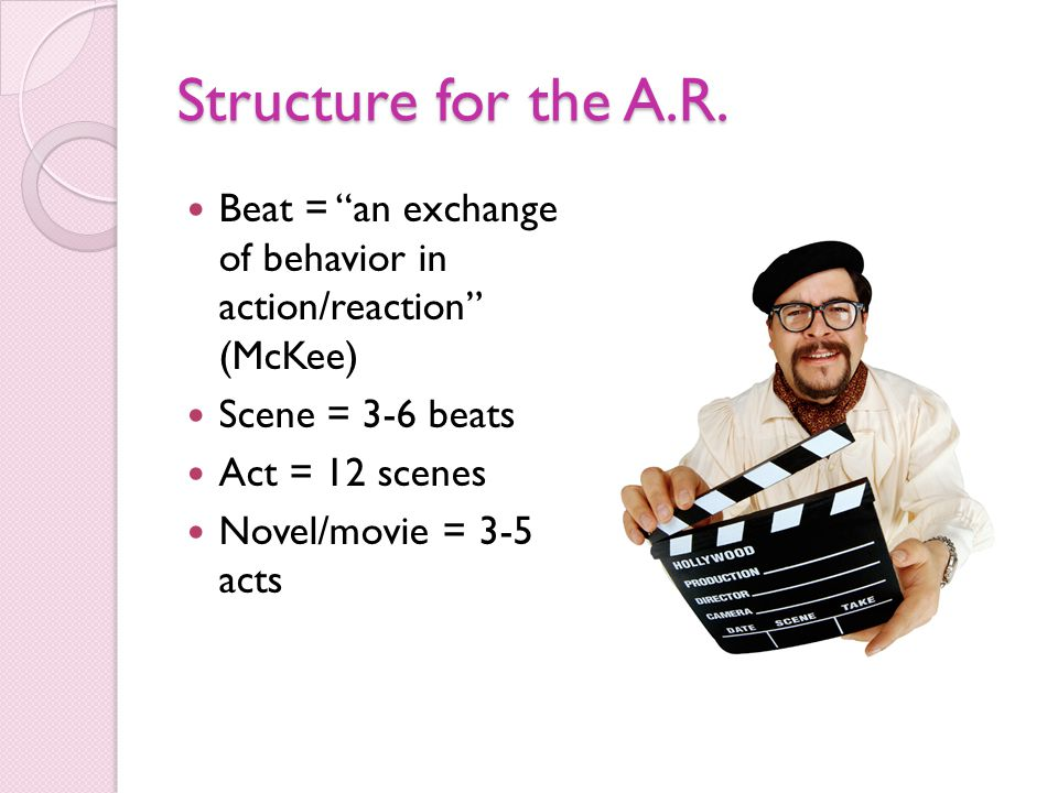 Structure for the A.R.