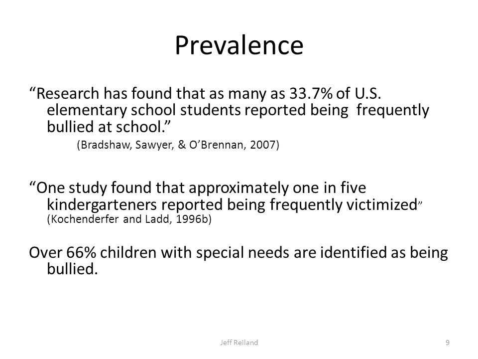 Prevalence Research has found that as many as 33.7% of U.S.
