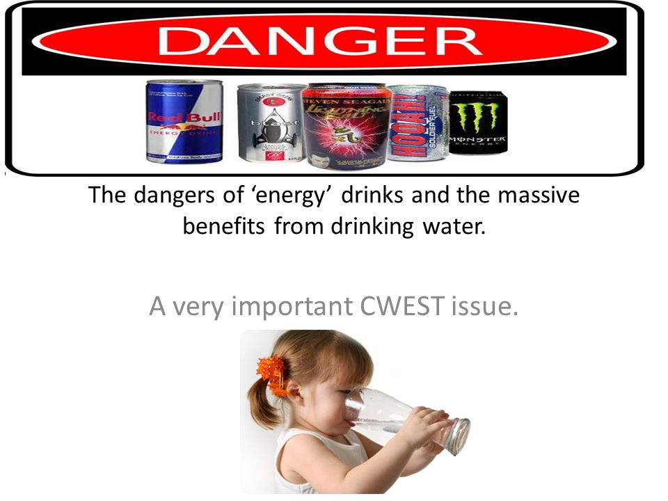 'ENERGY' DRINKS. Uncontrollable shaking
