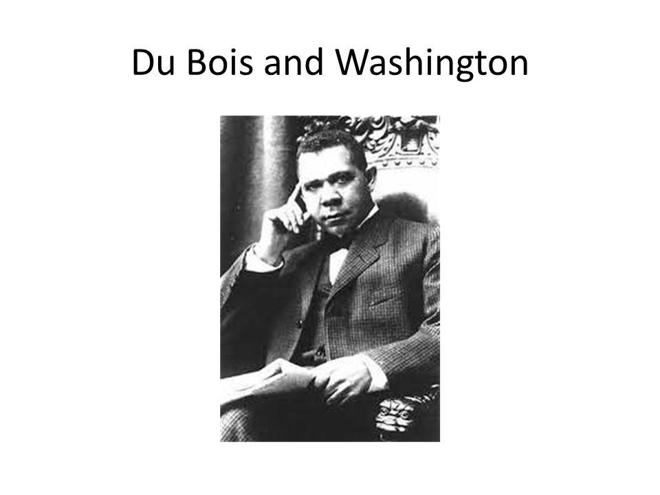 Du Bois and Washington