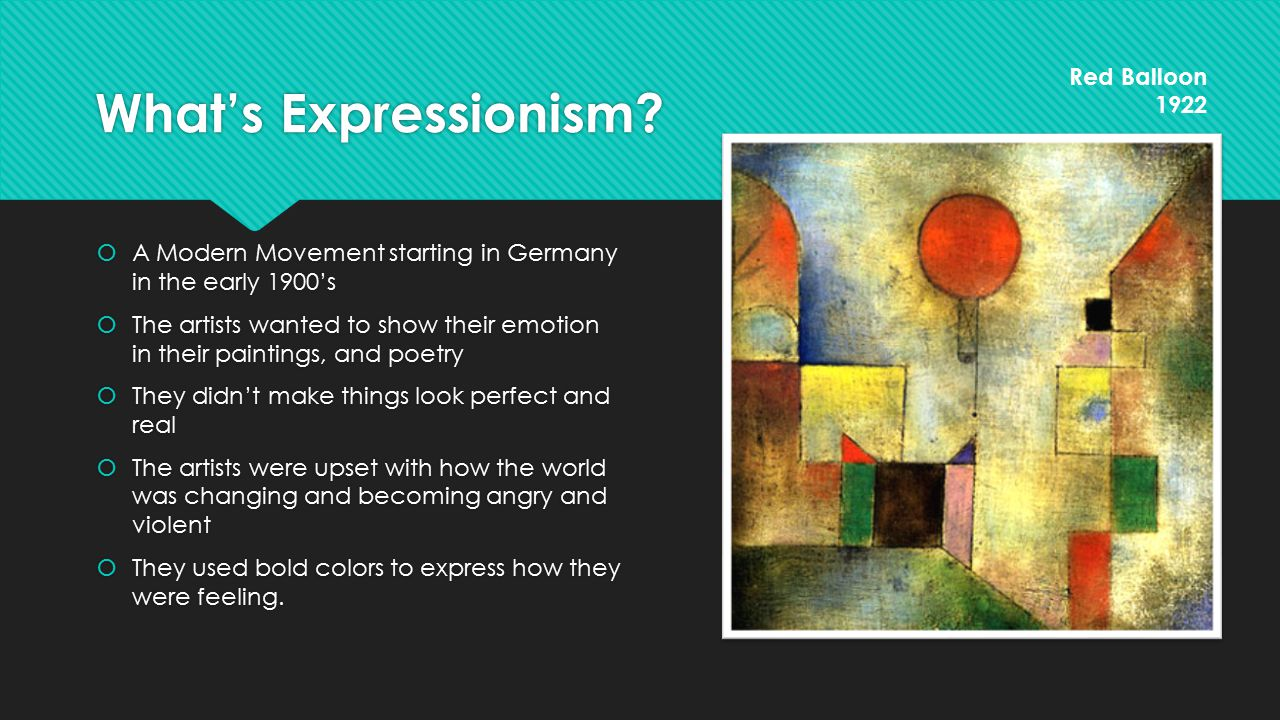 Interesting facts  Klee used practicing violin to warm-up for painting  He eventually fell in love with color, inspired by the light in Tunisia: Color has taken possession of me; no longer do I have to chase after it, I know that it has hold of me forever …color and I are one.