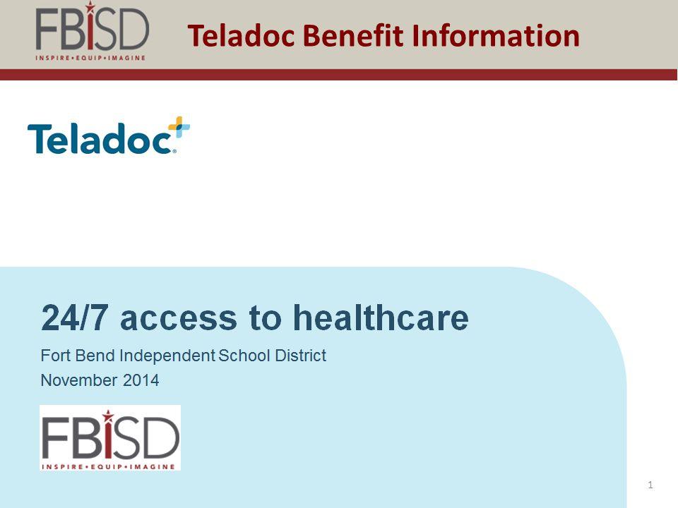 Teladoc Benefit Information 1