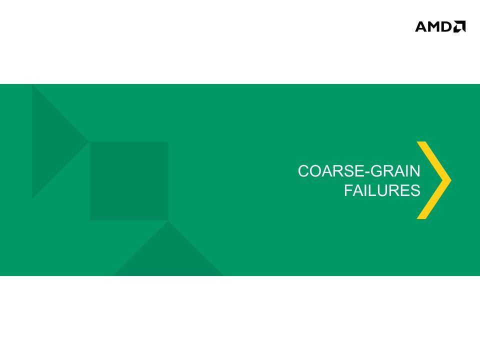 COARSE-GRAIN FAILURES