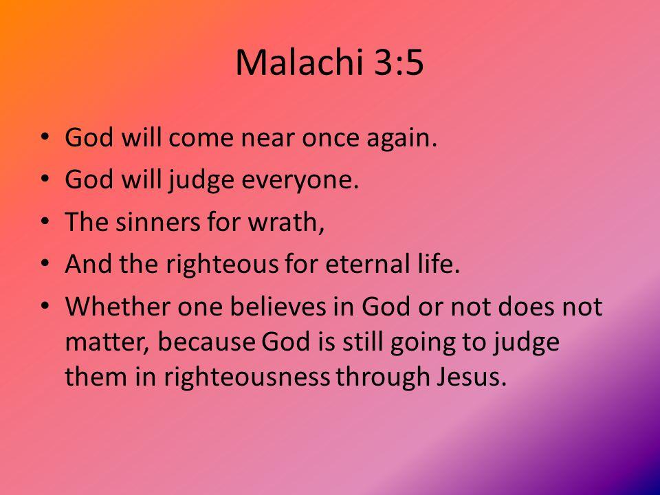 Malachi 3:6 God does not change.PERIOD.