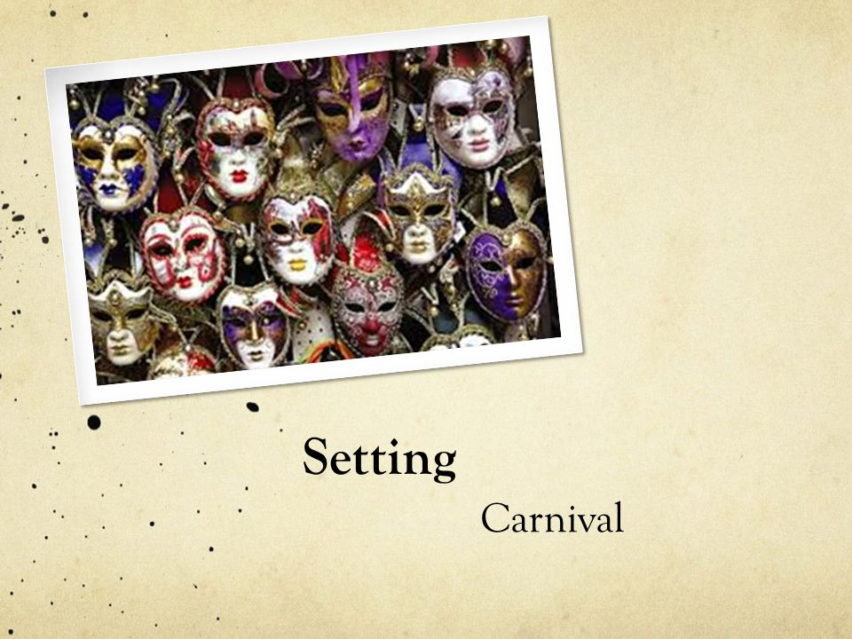 Setting Carnival