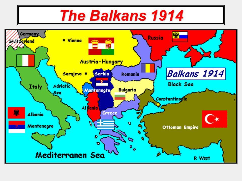The Balkans 1914