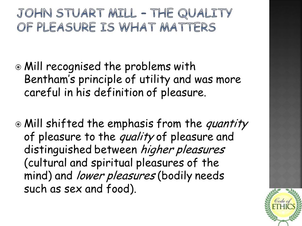  Preference utilitarianism tries to maximise the satisfaction of people's preferences.