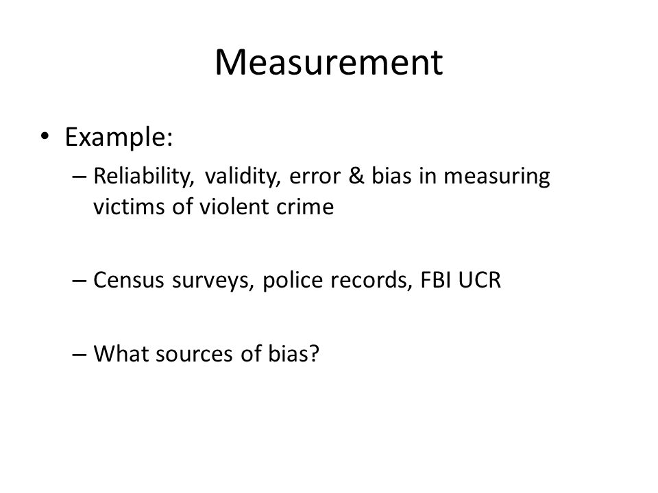 Measurement How do we ask people questions about attitudes, behavior that isn't socially accepted.