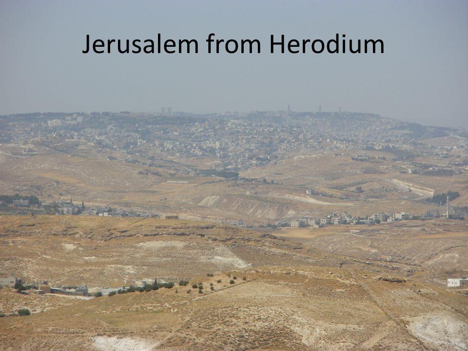 Jerusalem from Herodium