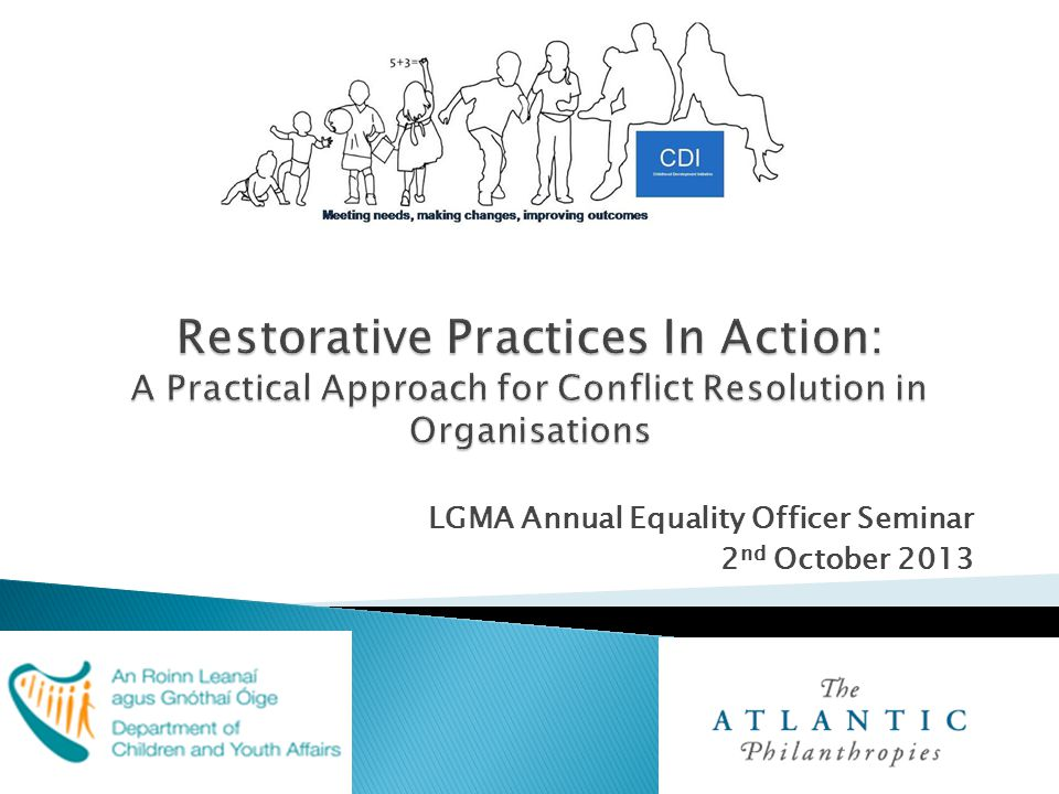 LGMA Annual Equality Officer Seminar 2 nd October 2013