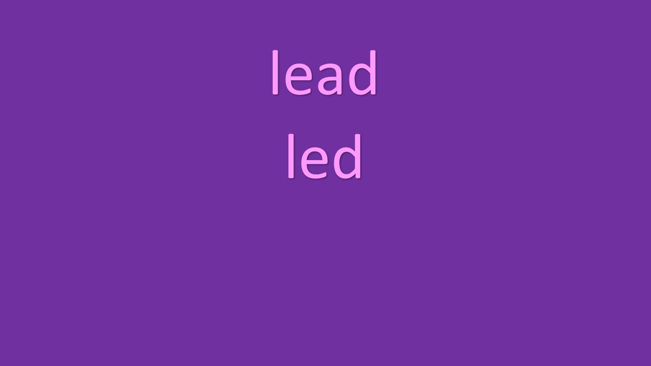 lead led