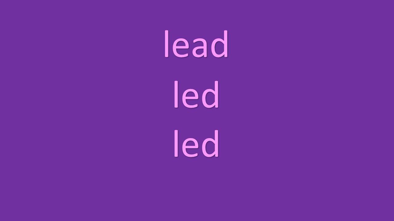 lead led led