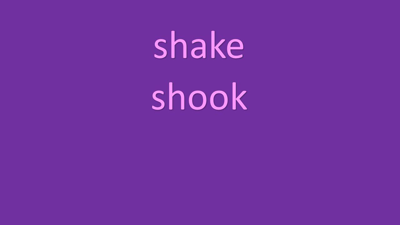 shake shook
