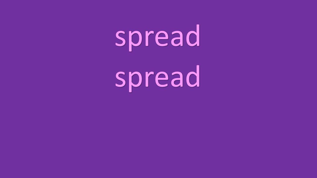 spread spread