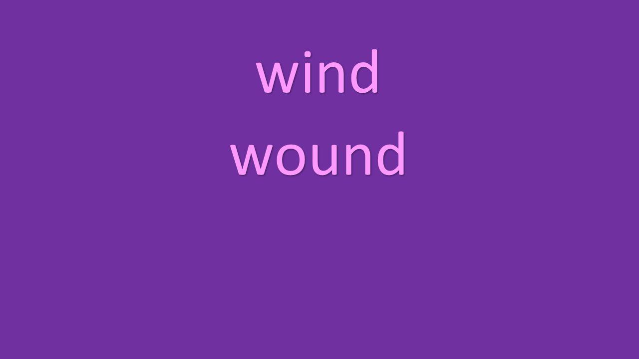 wind wound