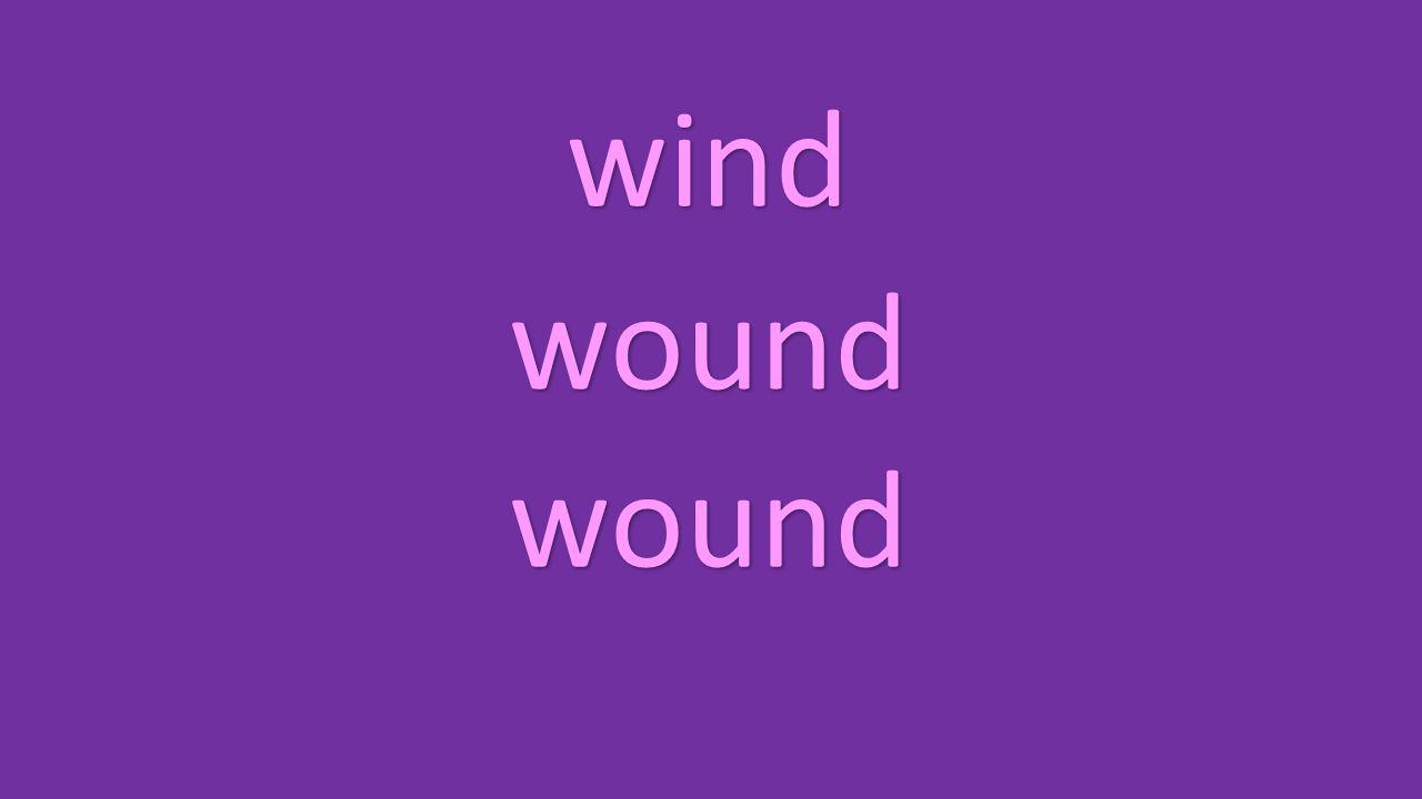 wind wound wound
