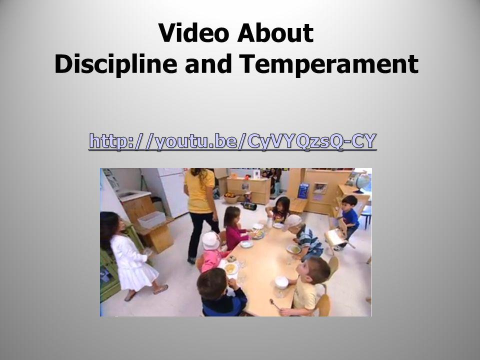 The Three Basic Temperament Types 1.