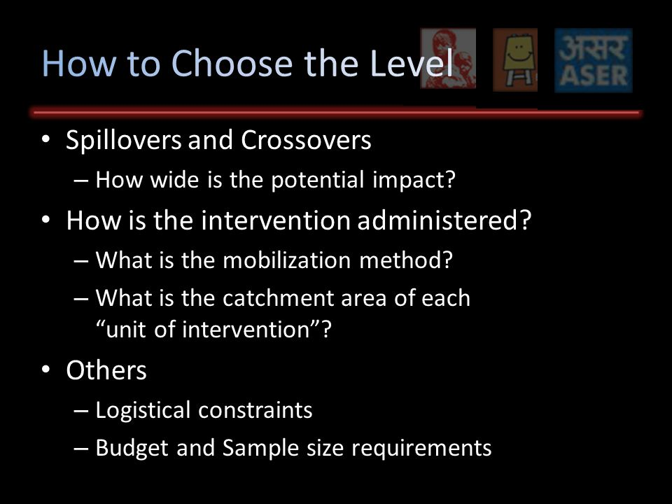 Spillovers and Crossovers – How wide is the potential impact.