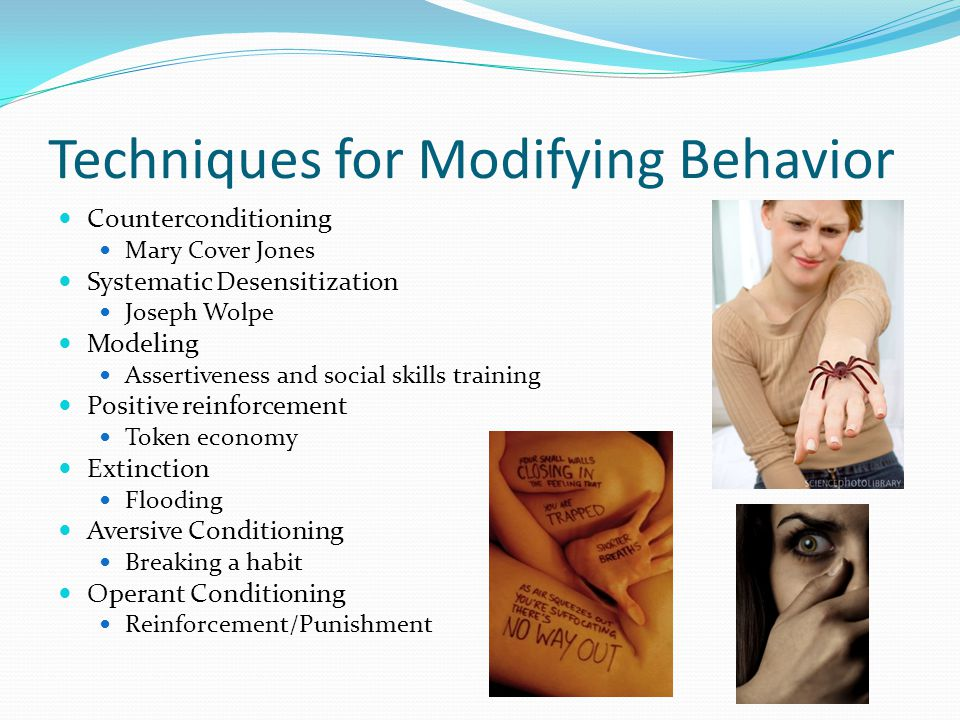 Cognitive Therapy Focus is on changing unhealthy thought patterns Rational-emotive behavior therapy – Albert Ellis Cognitive Restructuring healthy v.