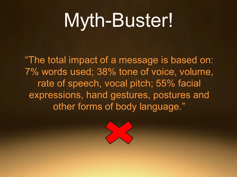 Myth-Buster.
