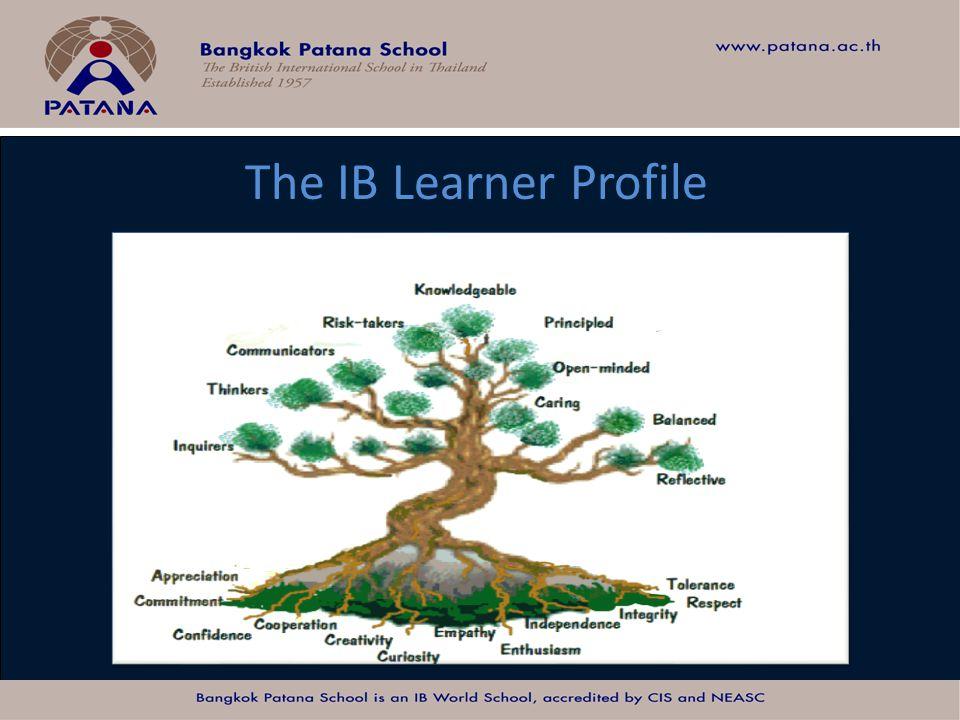 Bangkok Patana School Master Presentation The IB Learner Profile