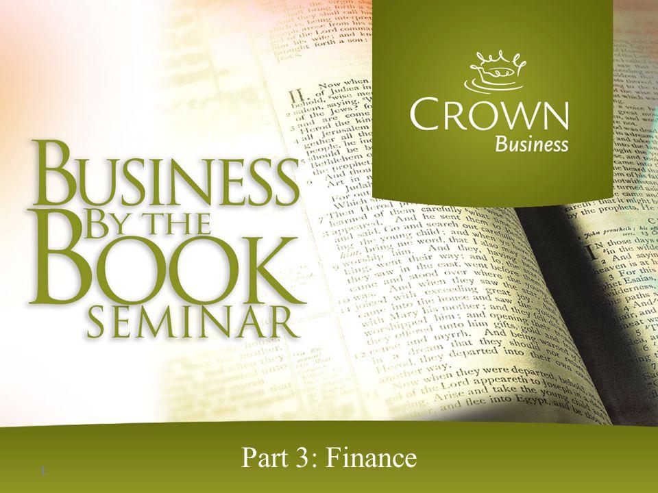 Part 3: Finance 1