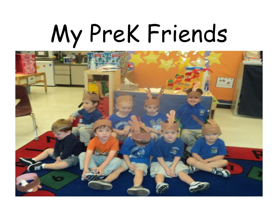 My PreK Friends