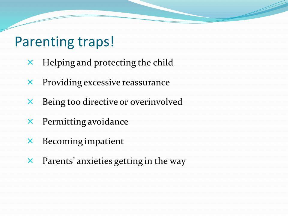 Parenting traps.