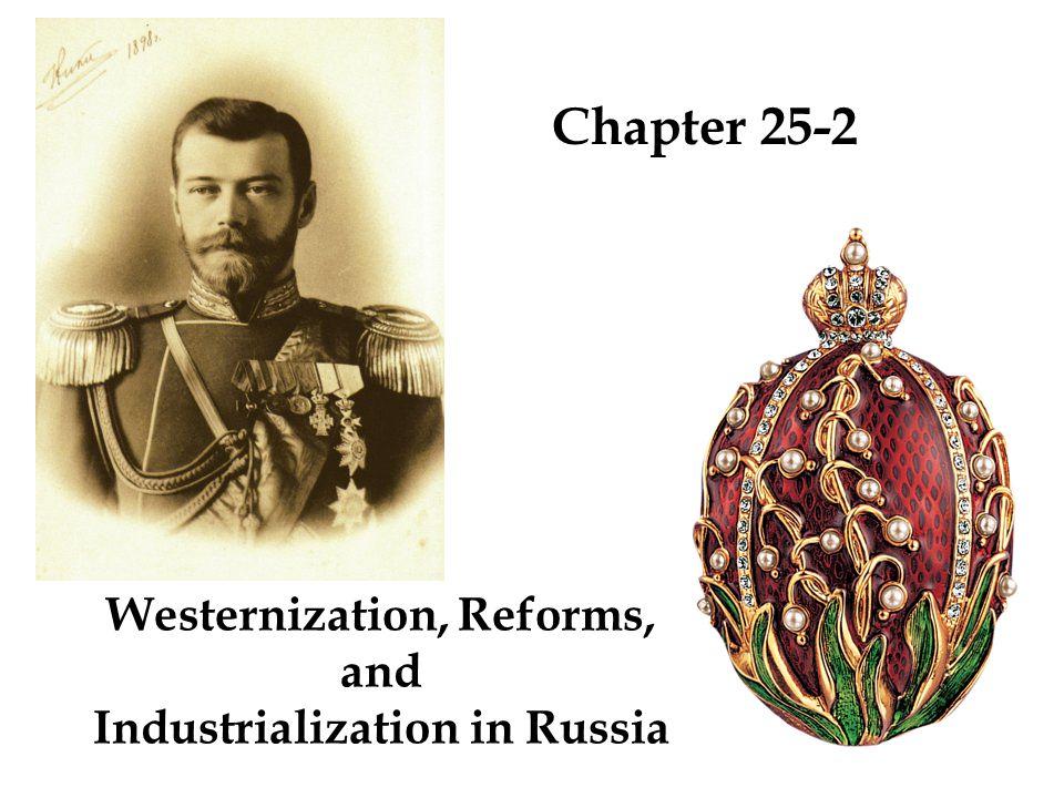 Major Czars and Czarinas of Russia Peter I, The Great 1682 – 1725 – Czar / Tsar ( Щϲaр ) - - - Emperor of all the Russias Elizabeth1741 – 1762 Catherine II, The Great 1762 – 1796 Alexander I1801 – 1825 Nicholas I1825 – 1855 Alexander II1855 – 1881 Alexander III1881 – 1894 (Saint) Nicholas II1894 – 1917