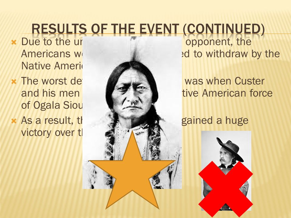  Due to the underestimation of the opponent, the Americans were trapped and forced to withdraw by the Native Americans.
