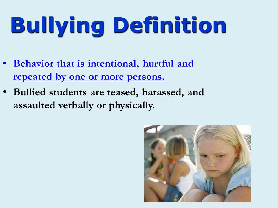 E- Define the following words during the presentation: 1.Bullying 2.Indirect Bullying 3.Direct Bullying 4.Cyber-Bully