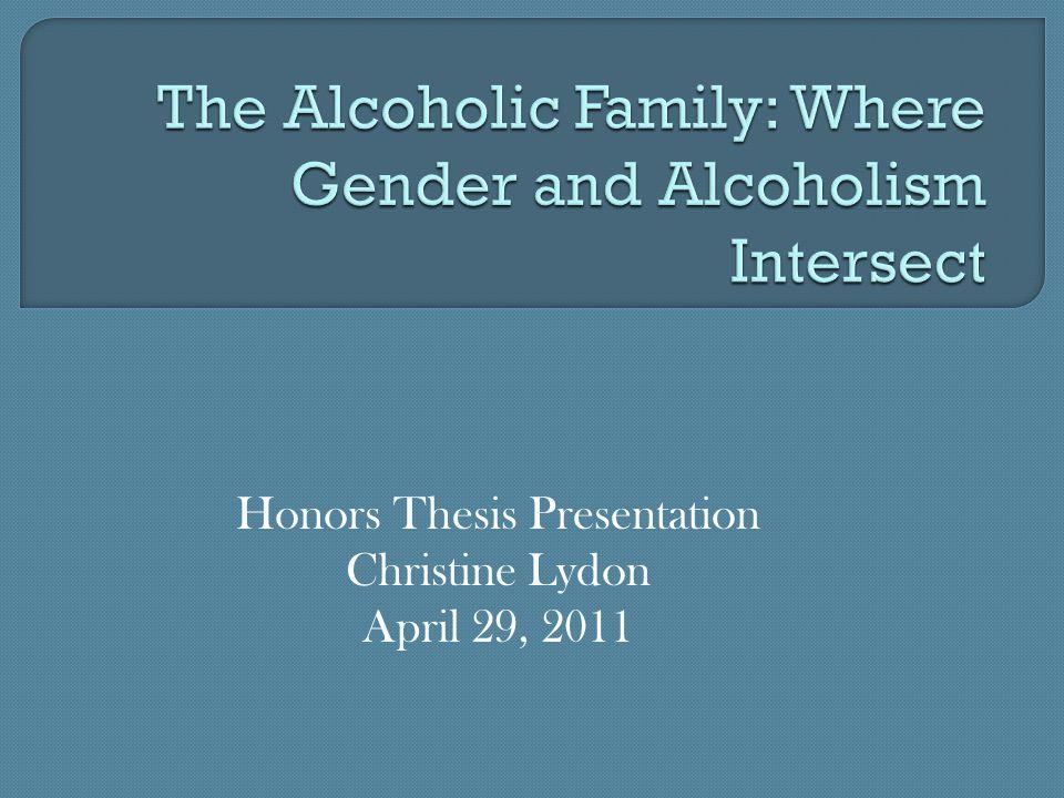 Honors Thesis Presentation Christine Lydon April 29, 2011