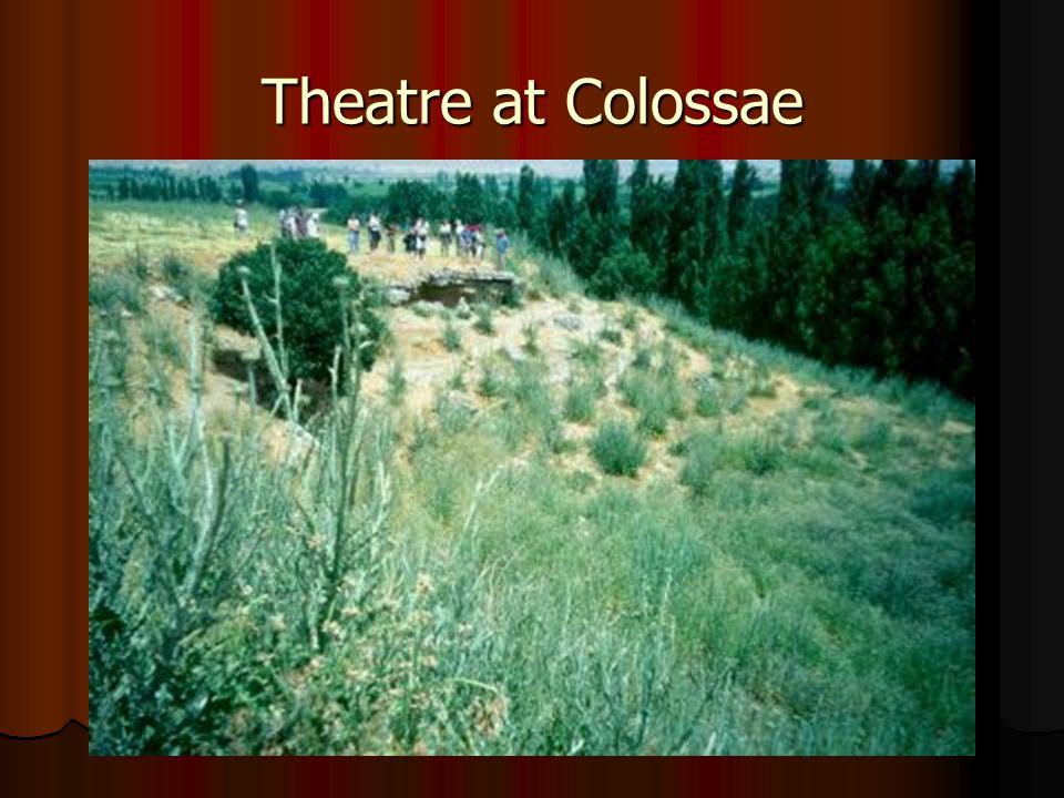 Theatre at Colossae