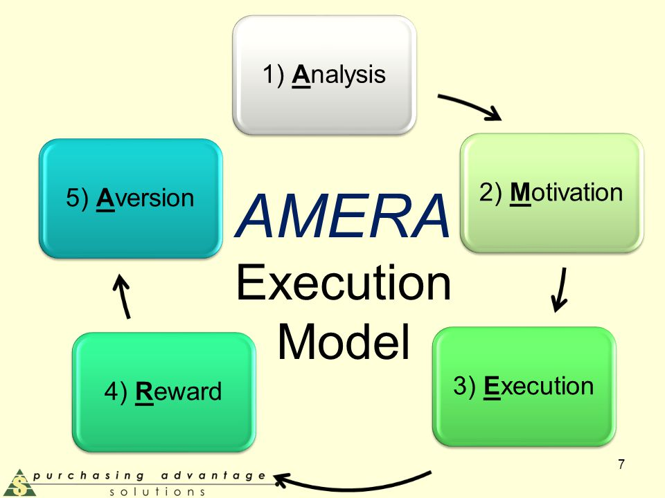 AMERA Execution Model 7