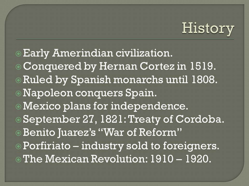  Early Amerindian civilization.  Conquered by Hernan Cortez in 1519.