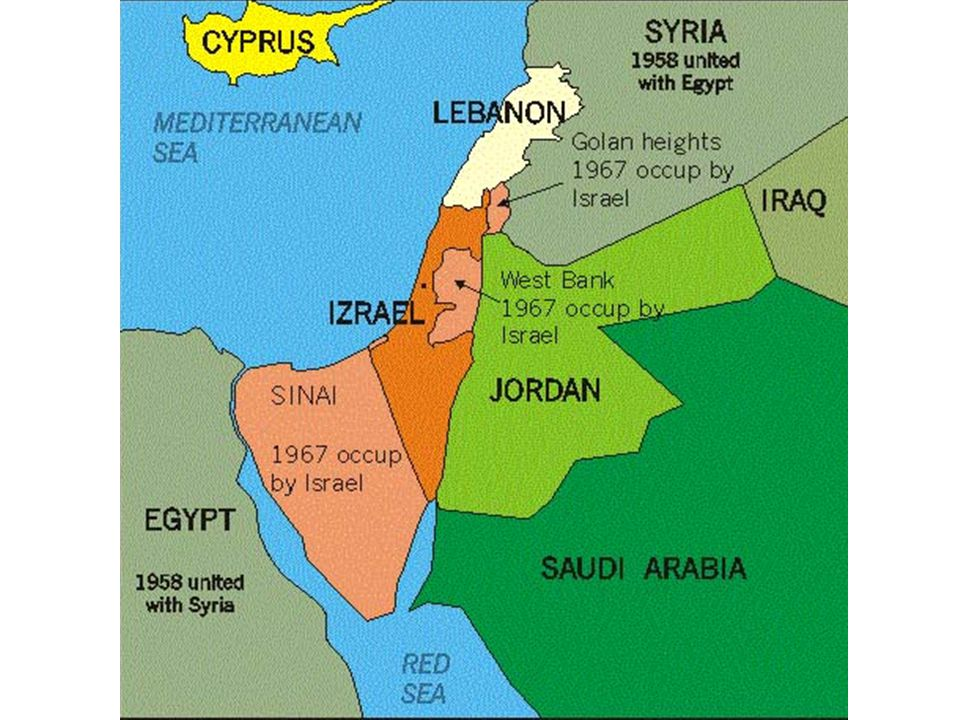 1973 Yom Kippur War Upset about lost territory from 1967, Egypt and Syria launched major offensives against Israel Israeli forces pushed into Syria beyond the Golan Heights, though they later gave up some of these gains.