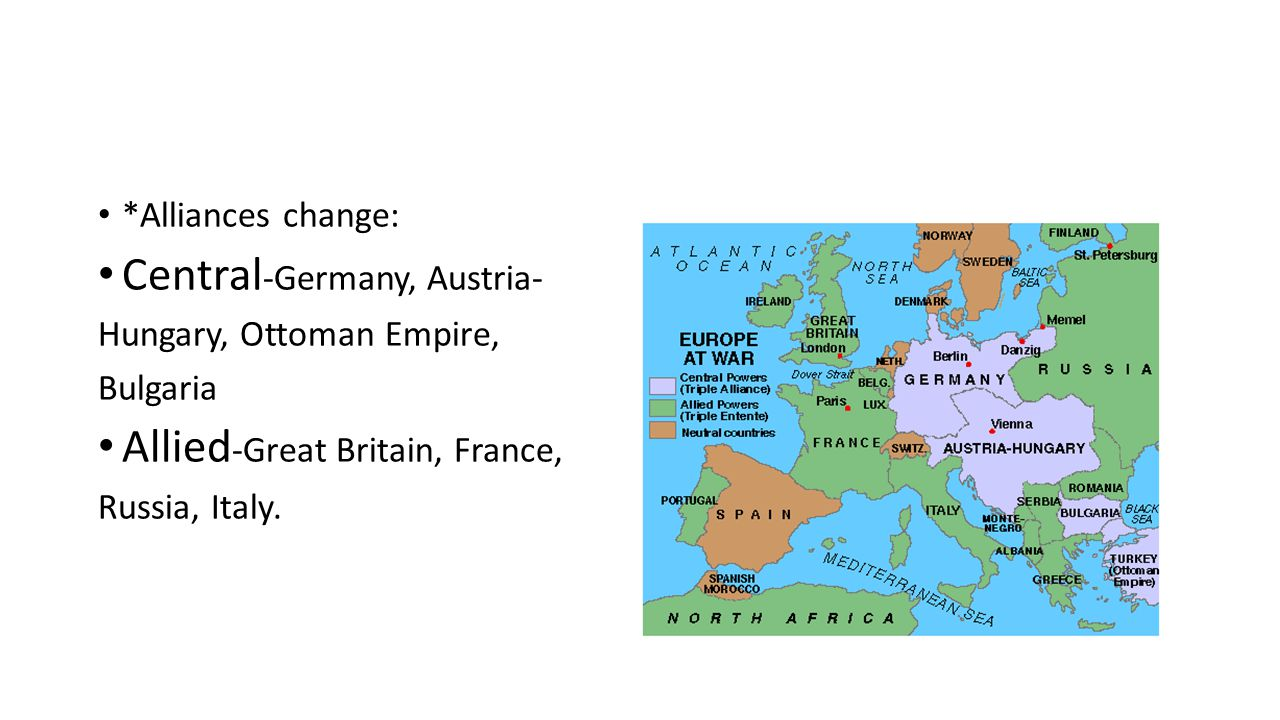 cause of wwi european alliances To what extent was the alliance system responsible for the when the first world war broke out, europe was the alliance system was one of the major causes of.