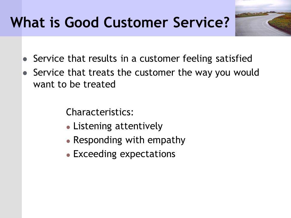 Destroying Customer Service Customers have memories.