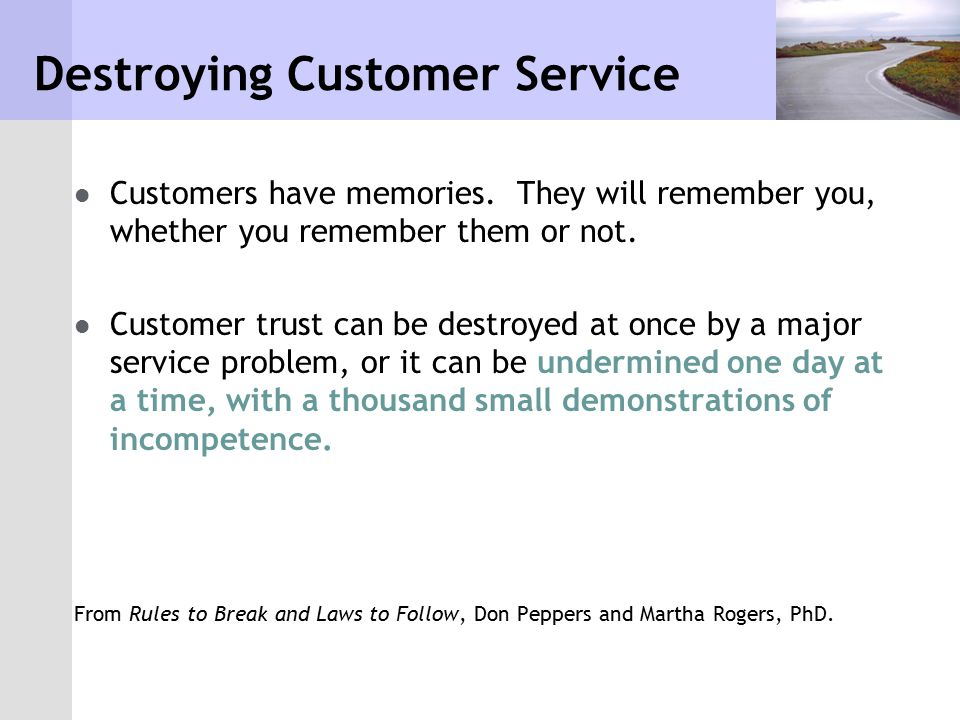 What is a Customer.