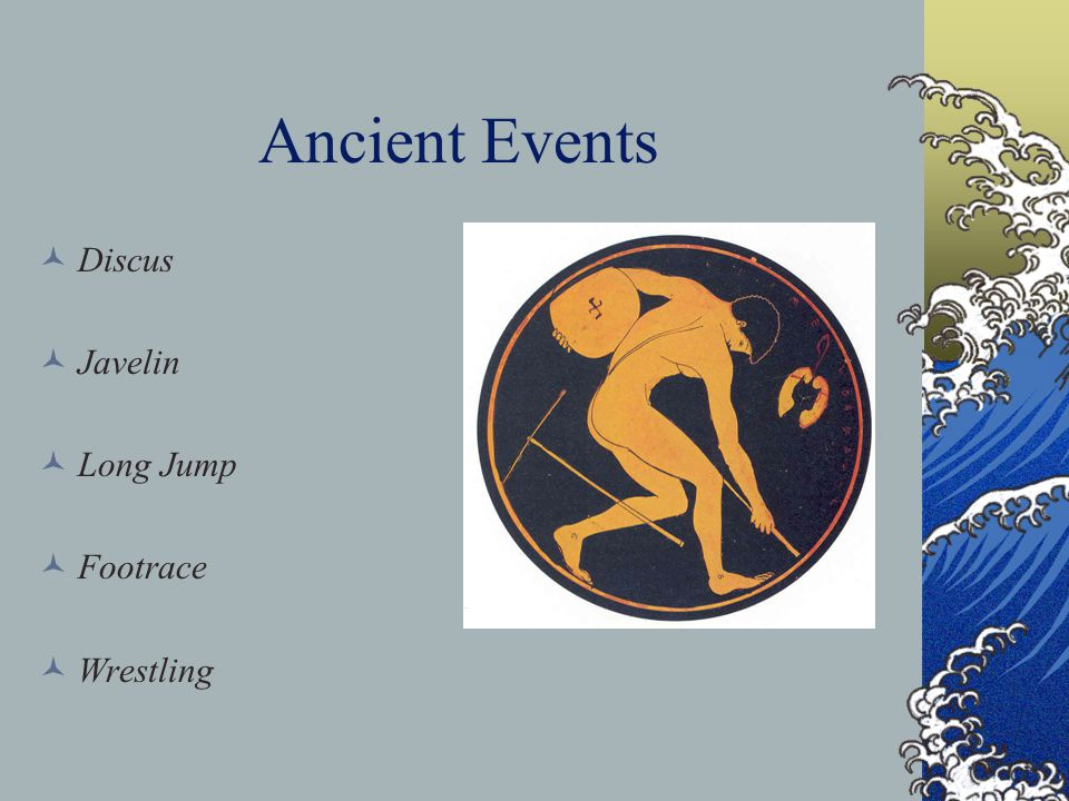 Ancient Events Boxing Equestrian Events Chariot Racing Riding Pankration