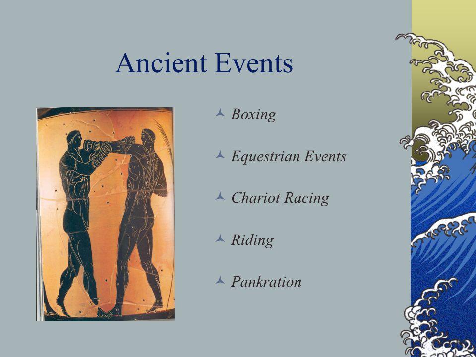 Famous Athletes Milo of Kroton 540 BCE Warrior/Athlete Theagenes of Thasos 480 BCE Statue of a god