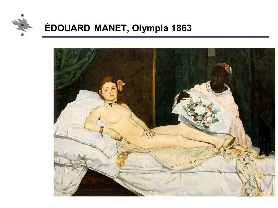ÉDOUARD MANET, Olympia 1863