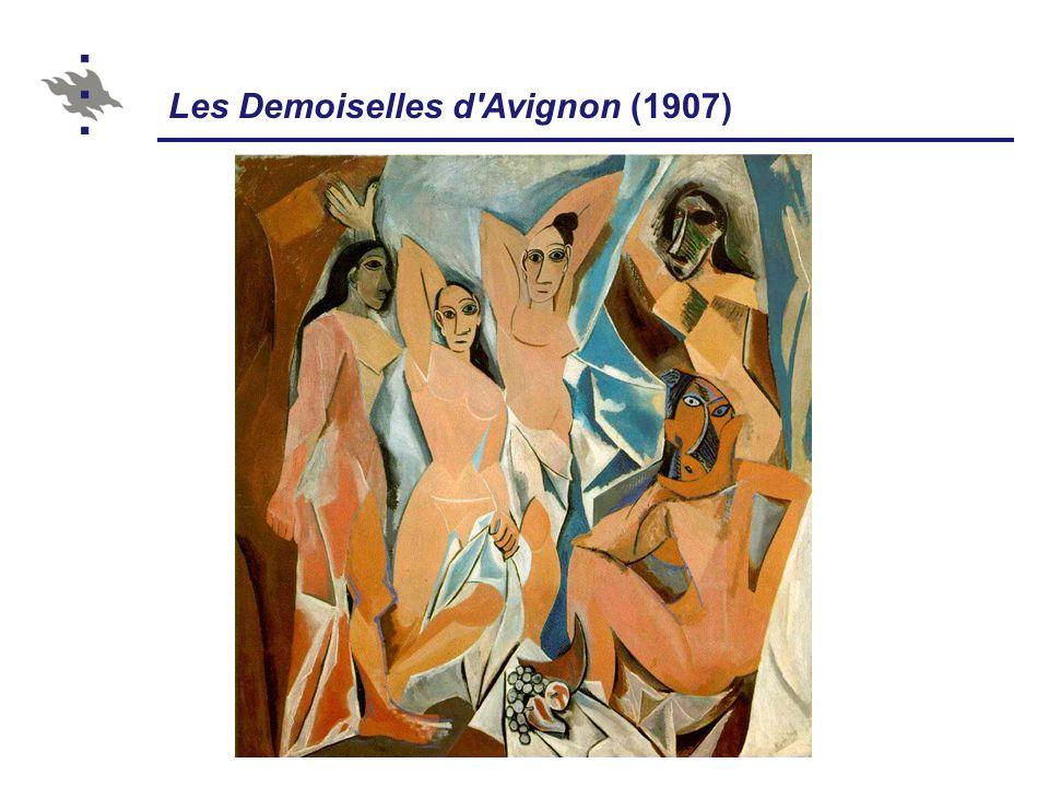 Les Demoiselles d Avignon (1907)
