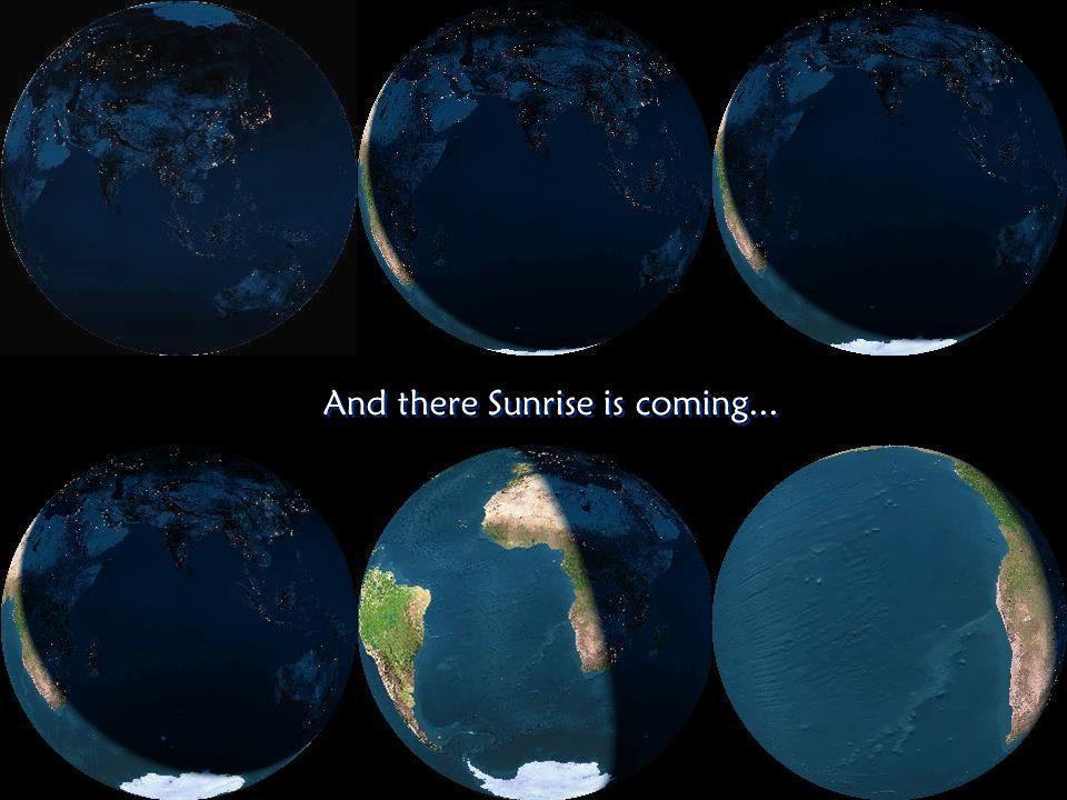 Nighttime lights on Earth Nighttime lights on Earth