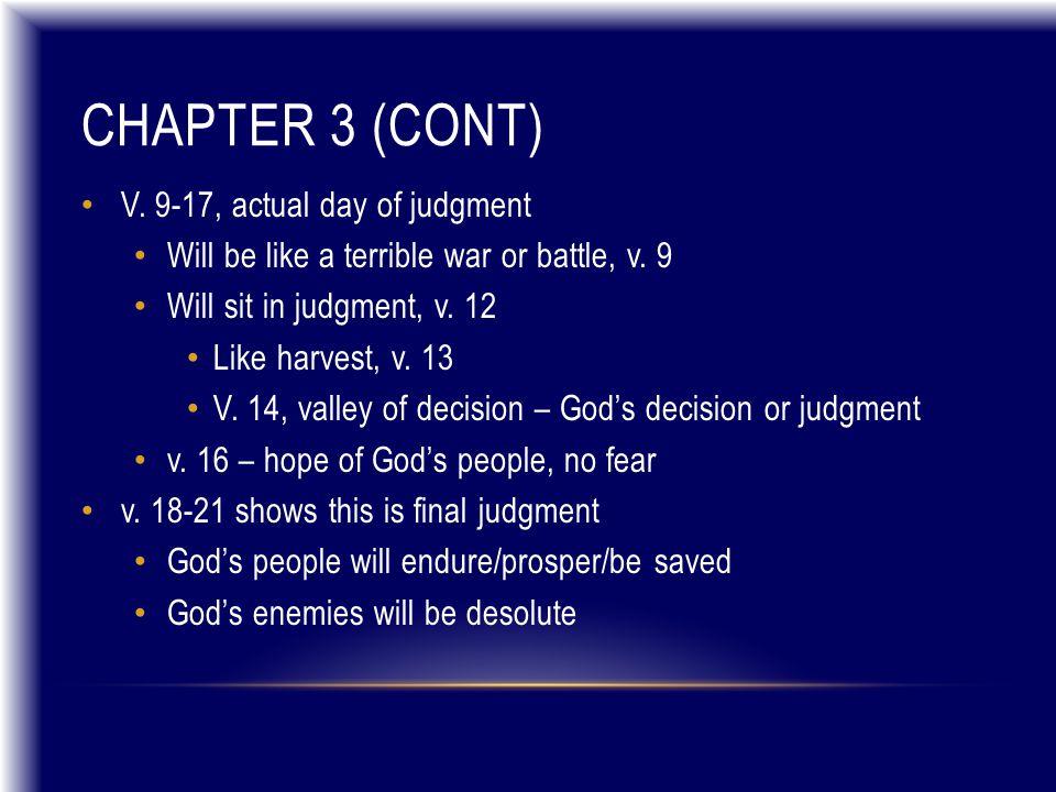 CHAPTER 1:17-2:10 (CONT) Jonah's depths of despair V.