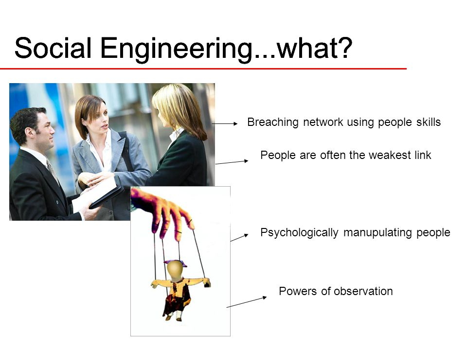 Social Engineering...what.